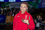 Glasgow 2014 Commonwealth Games<br /> <br /> Lauren Price with her Commonwealth Bronze medal.<br /> <br /> 02.08.14<br /> ©Steve Pope-SPORTINGWALES