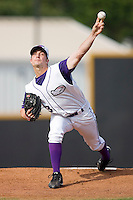 Starting pitcher Justin Edwards #13 of the Winston-Salem Dash in action versus the Lynchburg Hillcats at Wake Forest Baseball Stadium August 30, 2009 in Winston-Salem, North Carolina. (Photo by Brian Westerholt / Four Seam Images)