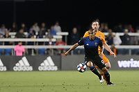 SAN JOSE, CA - JUNE 26: Judson #93 during a Major League Soccer (MLS) match between the San Jose Earthquakes and the Houston Dynamo on June 26, 2019 at Avaya Stadium in San Jose, California.