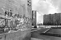 - Torino, suburban housing (january 1994)<br /> <br /> - Torino, case popolari di periferia (gennaio 1994)