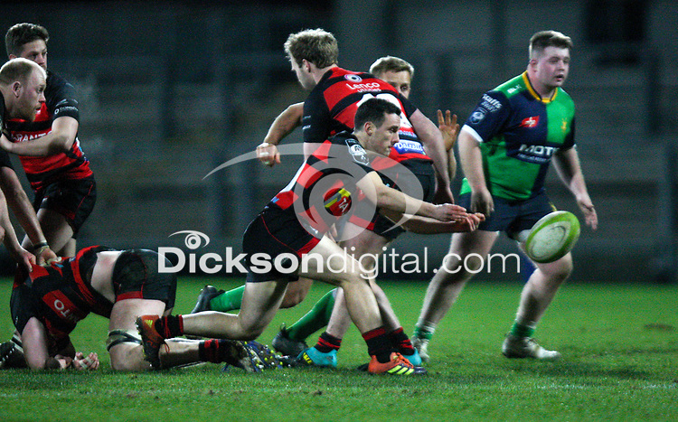 Friday 6th March 2020 | Armagh RFC vs Ballynahinch RFC<br /> <br /> Harry Doyle during the Bank Of Ireland Ulster Senior Cup Final between the City of Armagh RFC and Ballynahinch RFC at Kingspan Stadium, Ravenhill Park, Belfast, Northern Ireland. Photo by John Dickson / DICKSONDIGITAL
