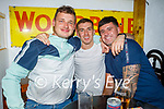 Enjoying the evening the in Sean Og's on Saturday, l to r: Jason Mullins, David O'Sullivan and John T O'Connor from Tralee.
