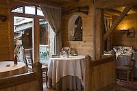 Europe/France/Rhone-Alpes/73/Savoie/  Saint-Martin-de-Belleville: Restaurant La Bouitte au hameau de Saint Marcel