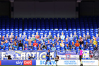 13th September 2020; Portman Road, Ipswich, Suffolk, England, English League One Footballl, Ipswich Town versus Wigan Athletic; Alan Judge of Ipswich Town collects the ball as fan cardboard cutouts are seen in the empty stand