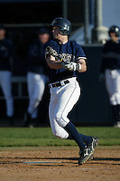 Wes Hodges of the Georgia Tech Yellow Jackets bats during a 2004 season game against the Southern California Trojans at Goodwin Field, in Fullerton, California. (Larry Goren/Four Seam Images)