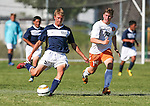 The North Tahoe Lakers defeated the Douglas Tigers 4-1 in a pre-season varsity soccer game on Thursday, Aug. 28, 2014, in Minden, Nev. <br /> Photo by Cathleen Allison