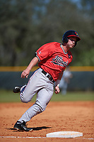 Illinois State Redbirds left fielder Daniel Dwyer (32) during a game against the Northwestern Wildcats on March 6, 2016 at North Charlotte Regional Park in Port Charlotte, Florida.  Illinois State defeated Northwestern 10-4.  (Mike Janes/Four Seam Images)