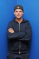 FORT LAUDERDALE, FL - FEBRUARY 12: Avicii poses for a portrait at Radio Station Y-100 on February 12, 2016 in Fort Lauderdale, Florida.<br /> <br /> People:  Avicii