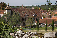 Europe/France/Midi-Pyrénées/46/Lot/ Quissac: les belles fermes-manoirs