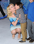 Hollywood, CA - NOVEMBER 19: Melissa Joan Hart and son arrives at The Disney FROZEN Premiere held at The El Capitan Theatre in Hollywood, California on November 19,2012                                                                               © 2013 Hollywood Press Agency
