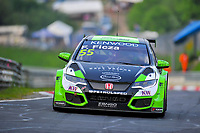 Race of Germany Nürburgring Nordschleife 2016 Free Training 1 WTCC 2016 #55 TC1 Zengo Motorsport Kft. Honda Civic WTCC Ferenc Ficza (HUN) © 2016 Musson/PSP. All Rights Reserved.
