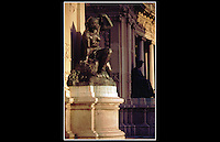 Sculpture, Monument to Alfonso XII (1857-1885) - Parque del Retiro, Madrid, Spain - September 1990 -