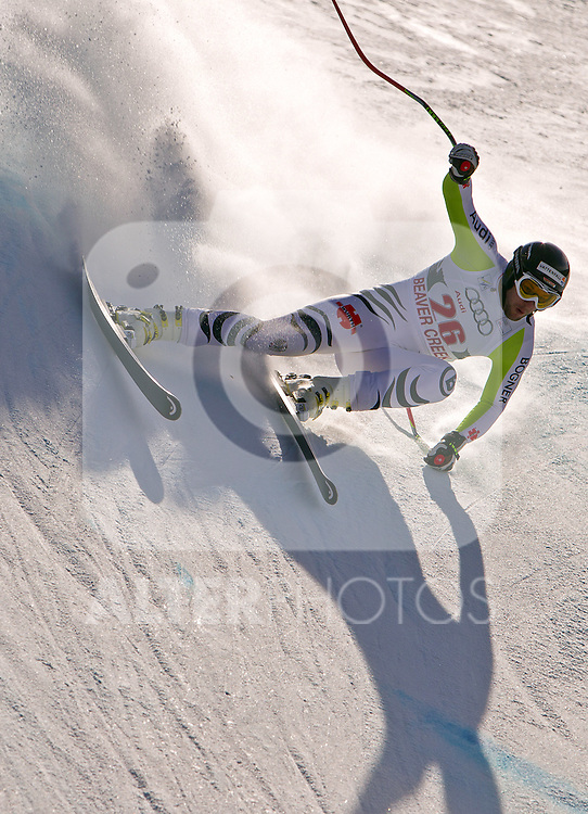 30.11.2011, Birds of Prey, Beaver Creek, USA, FIS Weltcup Ski Alpin, Abfahrt Herren, 2. Training, im Bild  German Ski Team Athlete Stephan Keppler // during a men's downhill practice session at FIS alpine Ski Worldcup on the Birds of Prey downhill course, Beaver Creek, United Staates on 2011/11/30 , EXPA Pictures © 2011, PhotoCredit: EXPA/ Jonathan Selkowitz..***** ATTENTION - out of USA *****