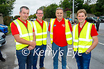Members of the Abbeydorney Vintage club at their tractor run on Sunday, l to r: Eamon O'Connell, Tom Fitzmaurice, Mike Baker and Jack O'Connor.