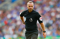 11th September 2021; King Power Stadium, Leicester, Leicestershire, England;  Premier League Football, Leicester City versus Manchester City; Referee Paul Tierney