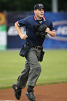 2007 MiLB Umpire Max Guyll during the New York-Penn League League season.  Photo By  Mike Janes/Four Seam Images