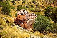 The Byzantine cruciform church of Taxiarchis (Archangels ), Paliachora, Aegina Greek Saronic Islands.