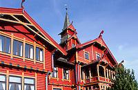 Norwegen, Oslo, Park-Hotel Rica auf dem Holmenkollen
