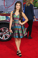 """HOLLYWOOD, LOS ANGELES, CA, USA - MARCH 11: Paris MaryJo Berelc at the World Premiere Of Disney's """"Muppets Most Wanted"""" held at the El Capitan Theatre on March 11, 2014 in Hollywood, Los Angeles, California, United States. (Photo by Xavier Collin/Celebrity Monitor)"""
