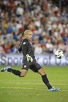 U.S goalkeeperTim Howard..USMNT defeated Guatemala 3-1 in World Cup qualifying play at LIVESTRONG Sporting Park, Kansas City, KS.