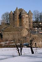 Europe/France/Auvergne/12/Aveyron/Env. de Laguiole: Château du Bousquet