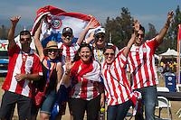 Photo before the match Colombia vs Paraguay, Corresponding Group -A- America Cup Centenary 2016, at Rose Bowl Stadium,<br /> <br /> Foto previo al partido Colombia vs Paraguay, Correspondiante al Grupo -A-  de la Copa America Centenario USA 2016 en el Estadio Rose Bowl, en la foto: Fans<br /> <br /> <br /> 07/06/2016/MEXSPORT/Jorge Martinez.