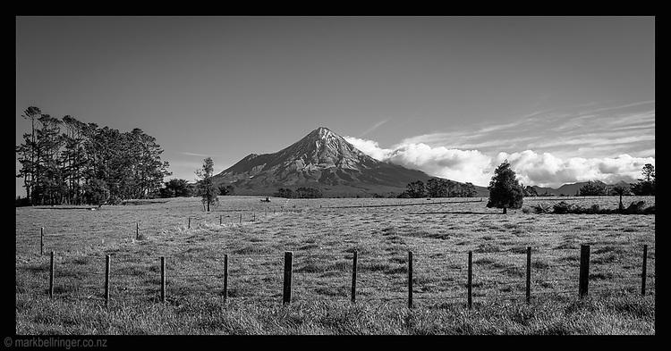 Mt Taranaki form Tariki