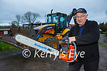 Currow farmer John C McSweeney who has raised concerns about Kerry Shares