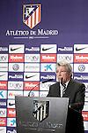 Atletico de Madrid's President Enrique Cerezo. January 5, 2016. (ALTERPHOTOS/Acero)