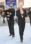 Carey Hart, Alecia Moore aka Pink and daughter Willow Sage Hart  at The Warber Bros. Pictures'  World Premiere of HAPPY FEET TWO held at The Grauman's Chinese Theatre in Hollywood, California on November 13,2011                                                                               © 2011 Hollywood Press Agency