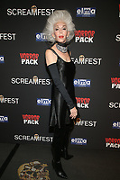 HOLLYWOOD, CA - OCTOBER 12: Colleen Heidemann, at the 21st Screamfest Opening Night Screening Of The Retaliators at Mann Chinese 6 Theatre in Hollywood, California on October 12, 2021. Credit: Faye Sadou/MediaPunch