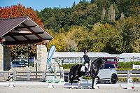 NZL-Melissa Galloway rides Windermere Integro. Class 502: Zilco Advanced Medium Musical Freestyle sponosred by Louisa Hill Equestrian. 2021 NZL-Oro Dressage by the Lake - at Takapoto Estate. Lake Karapiro. Waikato. Saturday 1 May. Copyright Photo: Libby Law Photography
