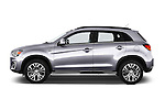 Car Driver side profile view of a 2015 Mitsubishi ASX Diamond Edition 5 Door SUV Side View