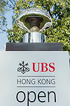 The Trophy during the 58th UBS Hong Kong Golf Open as part of the European Tour on 11 December 2016, at the Hong Kong Golf Club, Fanling, Hong Kong, China. Photo by Marcio Rodrigo Machado / Power Sport Images