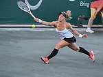 April 6,2017:  Laura Siegemund (GER) defeated Lucie Safarova (CZE) 6-2, 6-3, at the Volvo Car Open being played at Family Circle Tennis Center in Charleston, South Carolina.  ©Leslie Billman/Tennisclix/Cal Sport Media