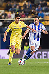 Rodrigo Hernández Cascante of Villarreal CF battles for the ball with Willian Jose da Silva of Real Sociedad during their Copa del Rey 2016-17 Round of 16 match between Villarreal and Real Sociedad at the Estadio El Madrigal on 11 January 2017 in Villarreal, Spain. Photo by Maria Jose Segovia Carmona / Power Sport Images