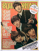 Rolling Stone cover, the Beatles, July 1976. Composite photo by John G. Zimmerman.