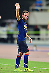 Manchester United forward Juan Mata (c) after the International Champions Cup China 2016, match between Manchester United vs Borussia  Dortmund on 22 July 2016 held at the Shanghai Stadium in Shanghai, China. Photo by Marcio Machado / Power Sport Images