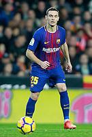 FC Barcelona's Thomas Vermaelen during La Liga match. November 26,2017.  *** Local Caption *** © pixathlon +++ tel. +49 - (040) - 22 63 02 60 - mail: info@pixathlon.de
