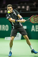 Rotterdam, The Netherlands, Februari 10, 2016,  ABNAMROWTT, Roberto Bautista Agut (ESP)<br /> Photo: Tennisimages/Henk Koster