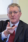 © Joel Goodman - 07973 332324 . 03/02/2014 . Manchester , UK . HILARY BENN , MP for Leeds Central and Shadow Community Secretary for the Labour Party , joins Labour candidate Mike Kane on the campaign trail ahead of the Wythenshawe and Sale East by-election , following the death of MP Paul Goggins . The pair speak to local pensioners about communities and housing . Photo credit : Joel Goodman