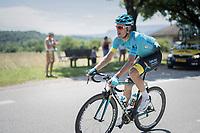Luis Leon Sanchez (ESP/Astana)<br /> <br /> Stage 6: Le parc des oiseaux/Villars-Les-Dombes › La Motte-Servolex (147km)<br /> 69th Critérium du Dauphiné 2017