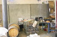 Domaine de la Garance. Pezenas region. Languedoc. Barrel cellar. France. Europe.