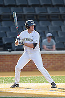 Will Craig (22) of the Wake Forest Demon Deacons at bat against the High Point Panthers at Wake Forest Baseball Park on April 2, 2014 in Winston-Salem, North Carolina.  The Demon Deacons defeated the Panthers 10-6.  (Brian Westerholt/Four Seam Images)