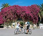 Greece, Dodecanese, Kos Island, Kos-Town: Gateway on Plateia Eleftherias Square | Griechenland, Dodekanes, Insel Kos, Kos-Stadt: Portal am Plateia Eleftherias Platz