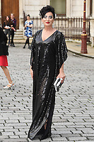 Nancy Dell'Olio arrives for the VIP preview of the Royal Academy of Arts Summer Exhibition 2016