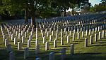 SALISBURY, NC 050521MB34—at the Salisbury National Cemetery in Salisbury, NC. <br /> Martin Begnal Republican American