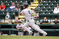 Jupiter Hammerheads infielder Ryan Goetz (11) during a game against the Bradenton Marauders on April 19, 2014 at McKechnie Field in Bradenton, Florida.  Bradenton defeated Jupiter 4-0.  (Mike Janes/Four Seam Images)