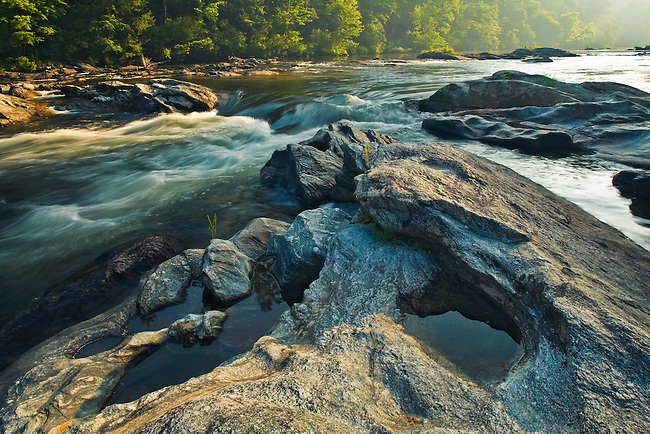 Sunrise on the Chattooga, Chattooga - National Wild and Scenic River