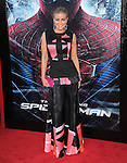 Carmen Electra attends  COLUMBIA PICTURES' THE AMAZING SPIDER-MAN Premiere held at Regency Village Theater in Westwood, California on June 28,2012                                                                               © 2012 Hollywood Press Agency